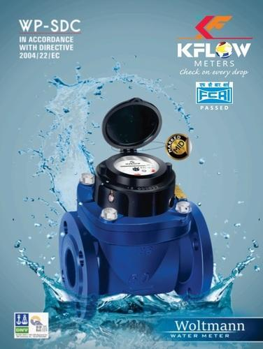 K Flow Woltman Type Water Meter